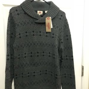 NWT Levi's sweater Sz L quality shows
